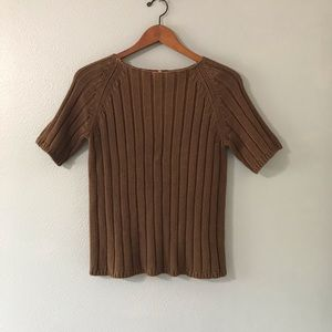 Neiman Marcus Sweaters - Neiman Marcus vintage knitwear brown sweater.